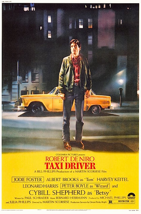 """You talkin' to me?"" This near-perfect film carries 98% / 93% RT Rating. So just 3 % points higher than Unforgiven. Really? Taxi Driver Martin Scorsese, 1976"