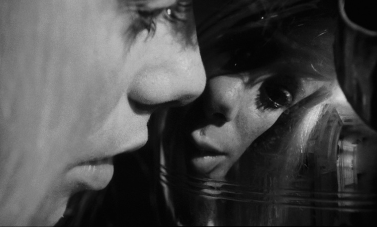 Moving closer is the vase's distortion somehow more aligned with Carol's perceptions? Catherine Deneuve REPULSION Roman Polanski, 1965 Cinematography | Gilbert Taylor