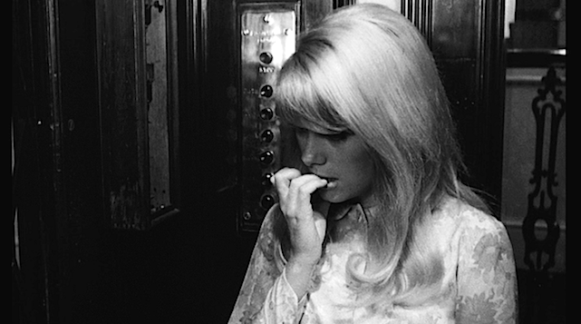"On her way up to the flat she shares with her sister, Carol bites her nails. I was doing something similar as I tried to find something ""new"" in ""The Scarlet Letter"" Catherine Deneuve REPULSION Roman Polanski, 1965 Cinematography 