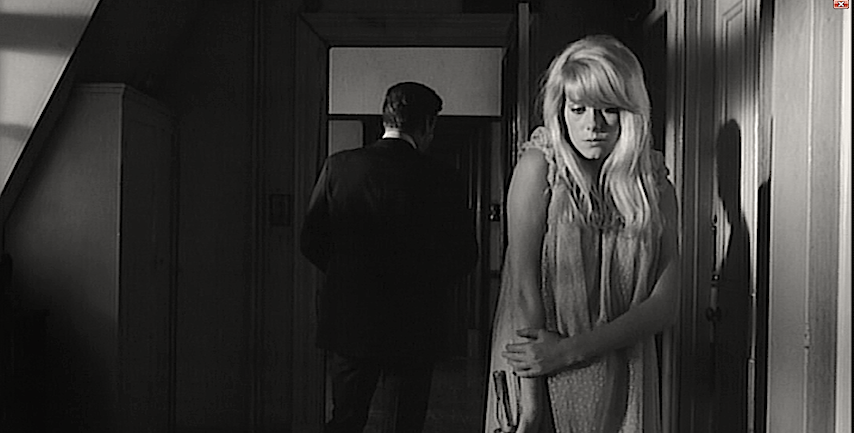 "He just wants to be ""with her."" Metal candlestick at the ready... John Fraser & Catherine Deneuve REPULSION Roman Polanski, 1965 Cinematography 