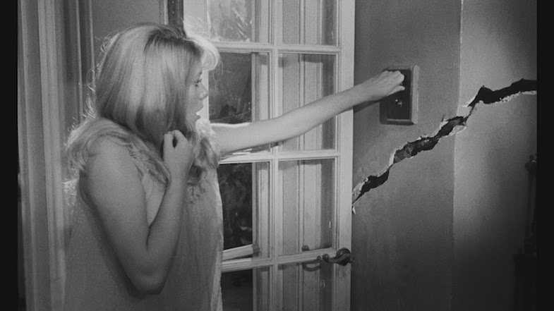She had planned on getting the crack in the kitchen mended, but new cracks are emerging everywhere. Catherine Deneuve REPULSION Roman Polanski, 1965 Cinematography | Gilbert Taylor