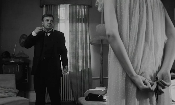 """You would not even have to worry about the rent..."" Patrick Wymark propositions Catherine Deneuve REPULSION Roman Polanski, 1965 Cinematography 