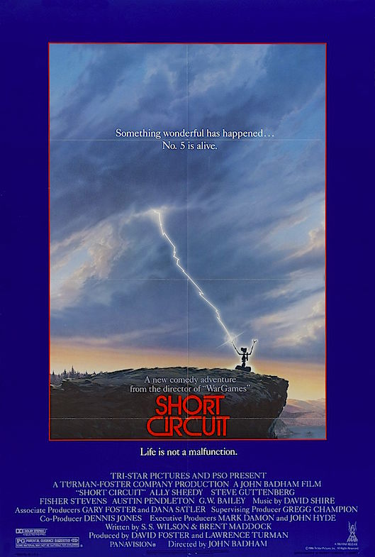 "A bit of light children's entertainment. ""Thumbs Down!"" Short Circuit John Badham, 1986"