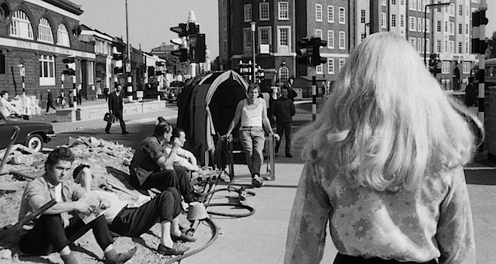 A quiet walk seems to be an open invitation to sexual advances... Catherine Deneuve faces the catcalls. REPULSION Roman Polanski, 1965 Cinematography | Gilbert Taylor