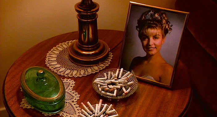 """If I had a nickel for every cigarette your mom smoked, I'd be dead."" Twin Peaks: Fire Walk With Me David Lynch, 1992 Cinematography 