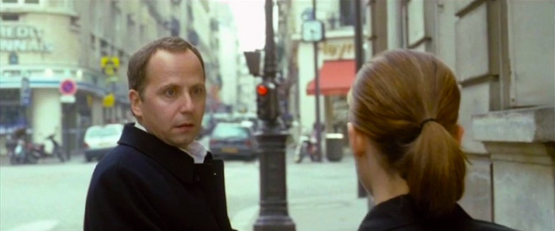 Taking Existentialism to a whole other kind of level... Fabrice Luchini Keep It Quiet Benoît Jacquot, 1999 Cinematography | Romain Winding