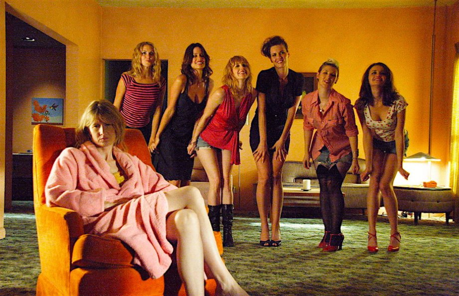 """Come on, baby Jump up Jump back Well, now, I think you've got the knack Wow, wow!"" Laura Dern & Friends(?) INLAND EMPIRE David Lynch, 2006"