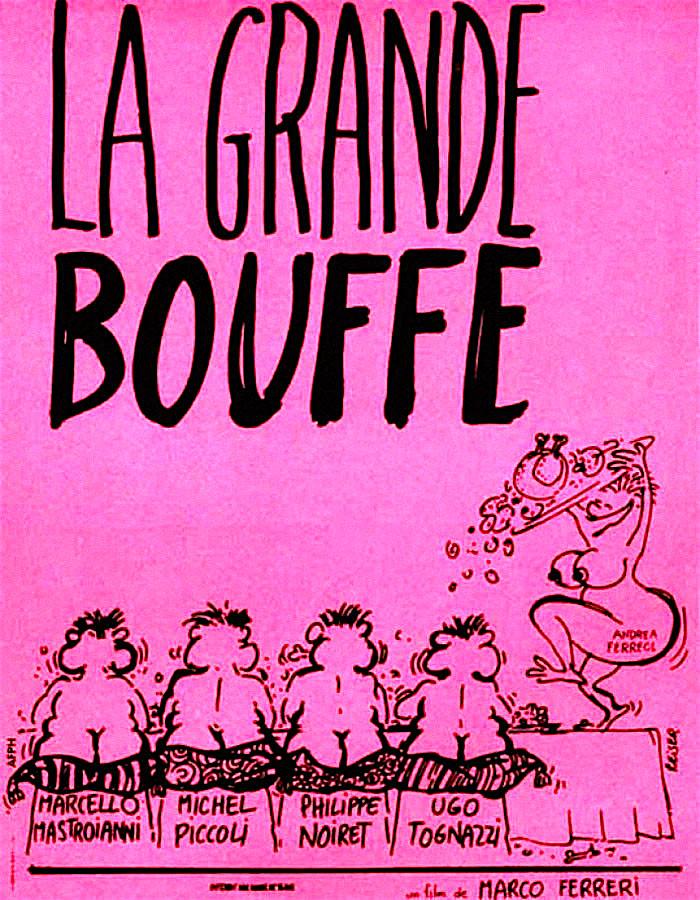 Le Grande Bouffe Marco Ferreri, 1973