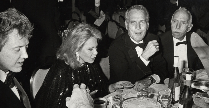 Christopher Walken, Sue Mengers, Paul Newman and David Brown circa 1977 Photograph by Ron Galella