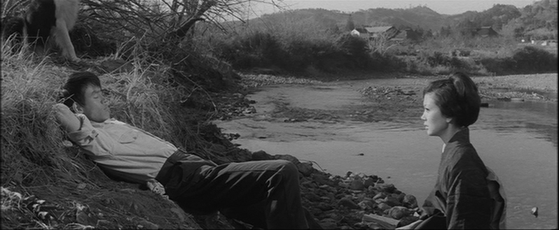 The Gardner & The Widow Tetsuo Ishidate & Ruriko Asaoka  Thirst for Love Koreyoshi Kurahara, 1967 Cinematography | Yoshio Mamiya