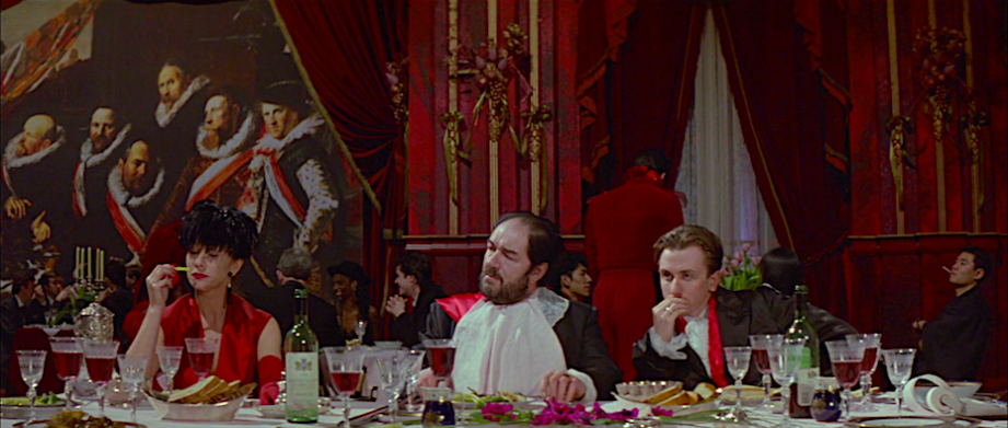 Food, Sex & Human Cruelty The Cook, the Thief, His Wife & Her Lover Peter Greenaway, 1989 Cinematography | Sacha Vierny