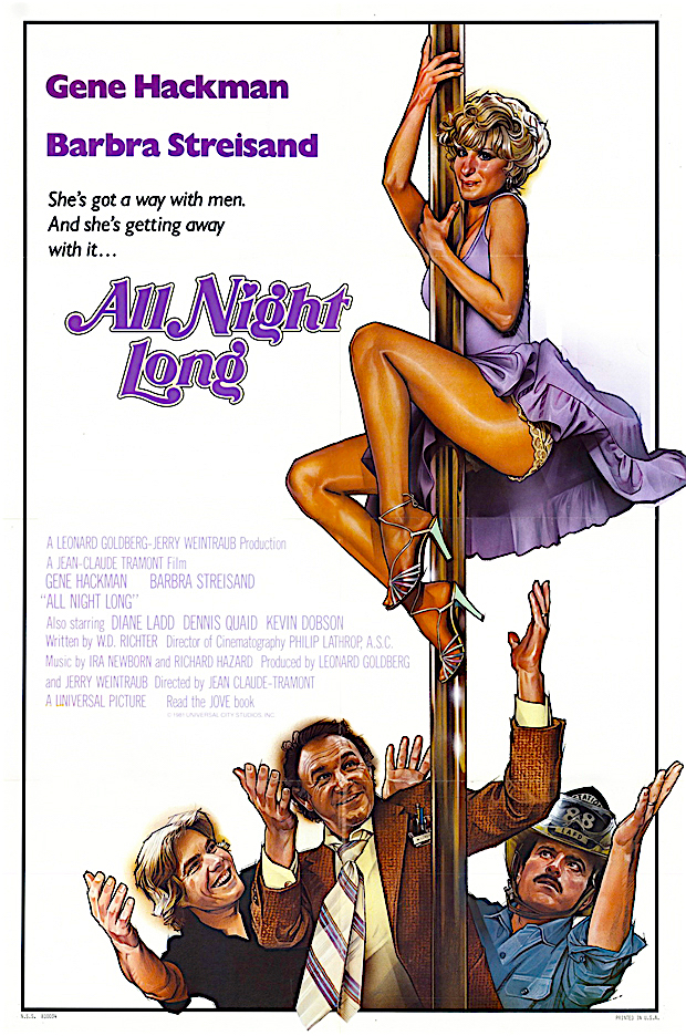 Uh, oh! Who's gonna get that hot dish... All Night Long Jean-Claude Tremont, 1981