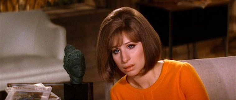 Barbra Streisand with comic timing and great intonations at the ready, but who IS that leading man? On A Clear Day You Can See Forever Vincente Minnelli, 1970 Cinematography | Harry Stradling Sr.