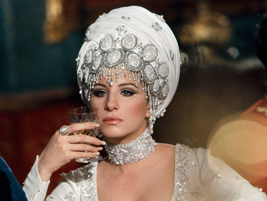 Melinda aims to seduce in her Cecil Beaton gowns... Barbra Streisand and those nails On A Clear Day You Can See Forever Vincente Minnelli, 1970 Cinematography | Harry Stradling Sr.