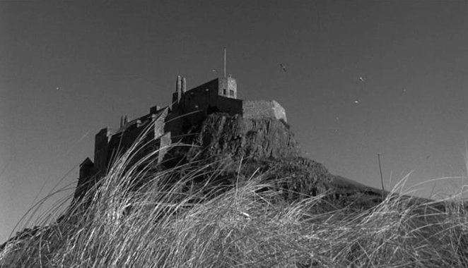Holy Island of Lindisfarne, Northumberland's Lindisfarne Castle is the home of George & Teresa Cul-de-Sac Roman Polanski, 1966 Cinematography | Gilbert Taylor