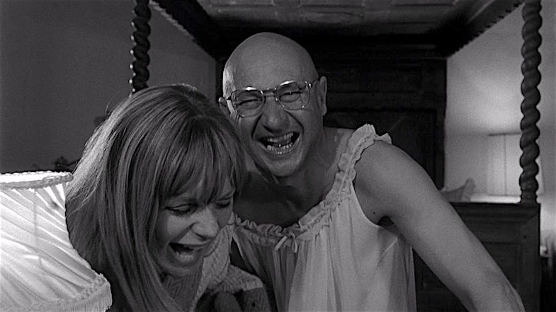 What's so funny? Françoise Dorléac & Donald Pleasence Cul-de-Sac Roman Polanski, 1966 Cinematography | Gilbert Taylor