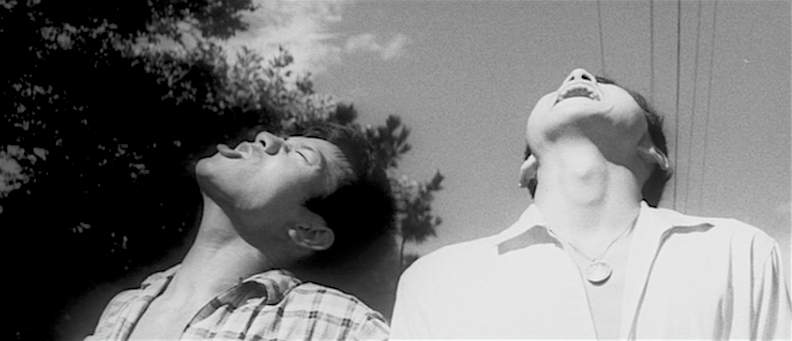 High on Rebellion and howling at the sun! Eiji Gô and Tamio Kawachi The Warped Ones Koreyoshi Kurahara, 1960 Cinematography | Yoshio Mamiya