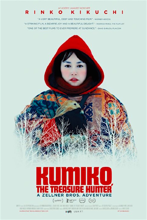 KUMIKO THE TREASURE HUNTER David Zellner and Nathan Zellner, 2015