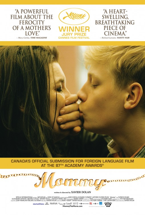 MOMMY Xavier Dolan, 2014