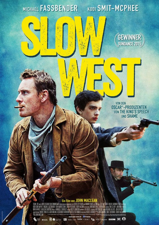 """So, now... East. What news? ""Violence and suffering. And West?"" ""Dreams and toil."" SLOW WEST John Maclean, 2015"