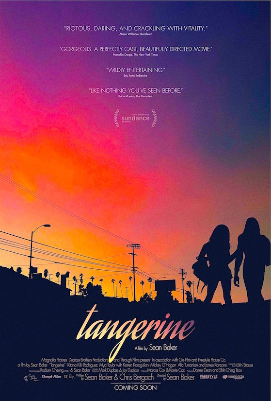 Filming with smart phones... TANGERINE Sean Baker, 2015