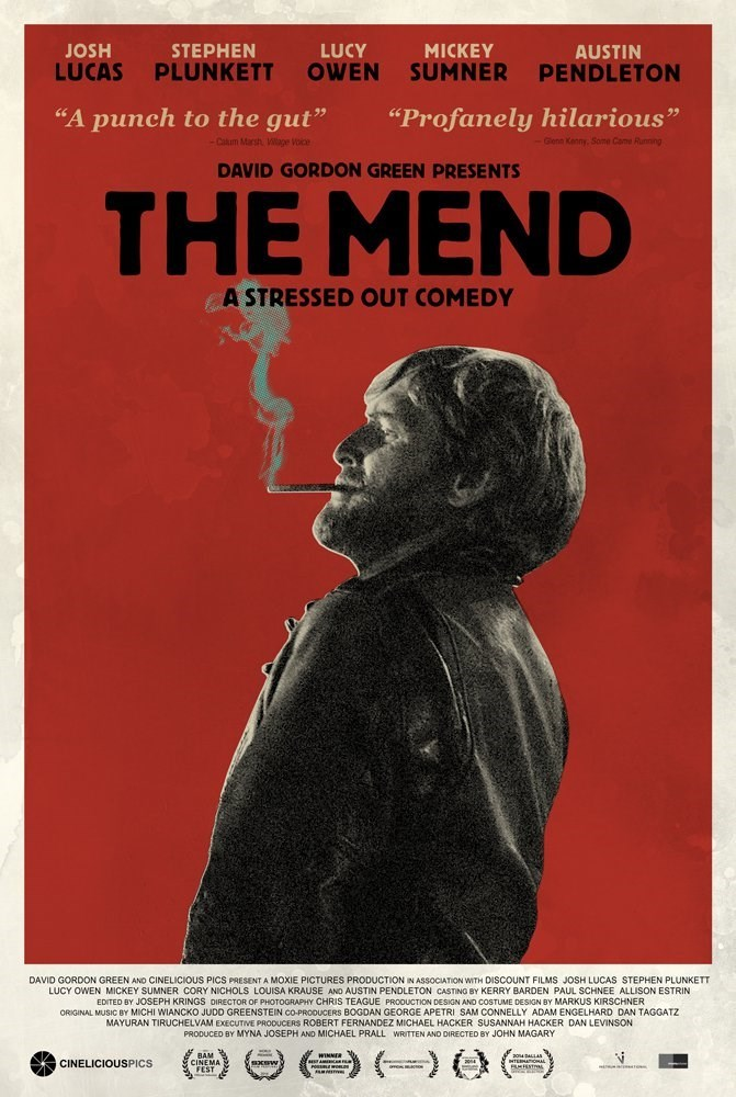 Brotherhood explored in a whole new way... THE MEND John Magary, 2014