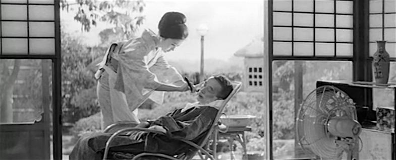 "Shaving ""Father"" Ruriko Asaoka & Nobuo Nakamura Thirst for Love Koreyoshi Kurahara, 1967 Cinematography | Yoshio Mamiya"
