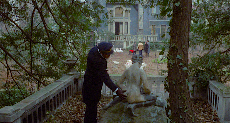 Appreciating the nude art on the grounds... La Grande Bouffe Marco Ferreri, 1973 Cinematography | Mario Vulpiani