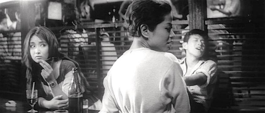 Yuko Chishiro, Noriko Matsumoto and Tamio Kawachi.  The Warped Ones Koreyoshi Kurahara, 1960 Cinematography | Yoshio Mamiya