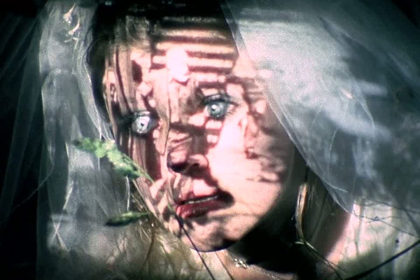 Centuries of Cruelty projected on to the face of a bride... The Other Side of the Underneath Jane Arden, 1972 Cinematography | Jack Bond & Aubrey Dewar