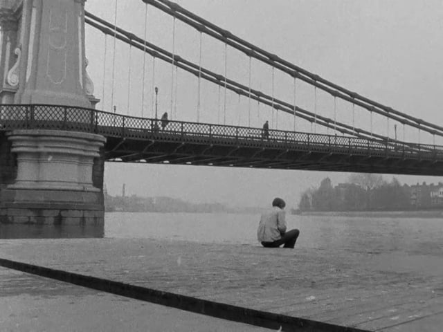 All alone in his thoughts... Duffer Joseph Despins & William Dumaresq, 1971 Cinematography | Jorge Guerra