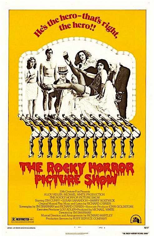 A different kind of Chorus Line... The Rocky Horror Picture Show Jim Sharman, 1975