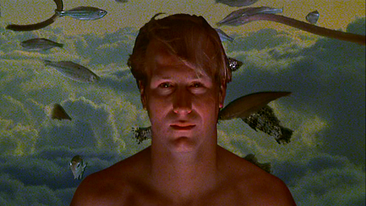 Dr. Jessup likes what he sees. At first, anyway. William Hurt Altered States Ken Russell, 1980 Cinematography | Jordan Cronenweth