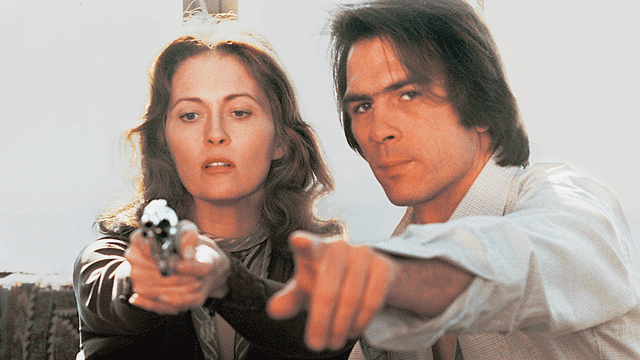 Learning how to shoot a handgun and ready for romance! Faye Dunaway and Tommy Lee Jones Eyes of Laura Mars Irvin Kershner, 1978 Cinematography | Victor J. Kemper