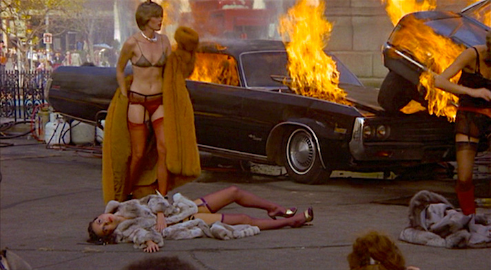 A glam but deadly car crash in Columbus Circle, but what is being sold here? Eyes of Laura Mars Irvin Kershner, 1978 Cinematography | Victor J. Kemper