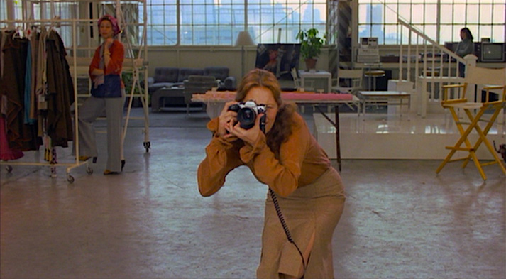 Taking aim... Faye Dunaway Eyes of Laura Mars Irvin Kershner, 1978 Cinematography | Victor J. Kemper