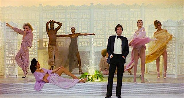Disco music blaring, the models pose in preparation for Laura's killing portrait... Eyes of Laura Mars Irvin Kershner, 1978 Cinematography | Victor J. Kemper