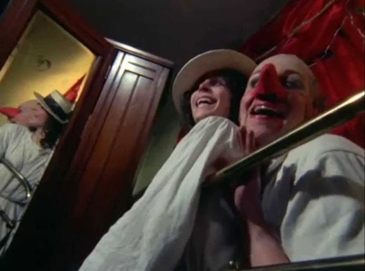 """Mine! Mine! Mine!"" ""She has a pretty face!!!"" Sheila Allen taunts with her human puppet... The Other Side of the Underneath Jane Arden, 1972 Cinematography 