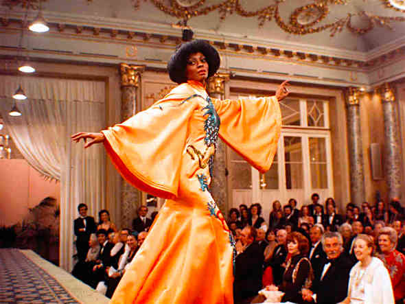 An exorcise in narcissism featuring fashion designs from the mind of the film's star. Diana Ross Mahogany Berry Gordy, 1975 Cinematography | David Watkin