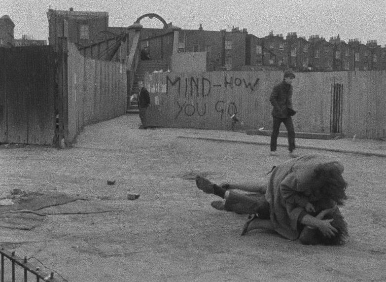 """Mind how you go..."" No where in Notting Hill is safe! Duffer Joseph Despins & William Dumaresq, 1971 Cinematography 