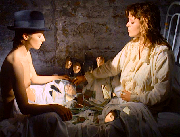 A Mirror Identity Game to the Death... Penny Slinger & Susanka Fraey The Other Side of the Underneath Jane Arden, 1972 Cinematography | Jack Bond & Aubrey Dewar