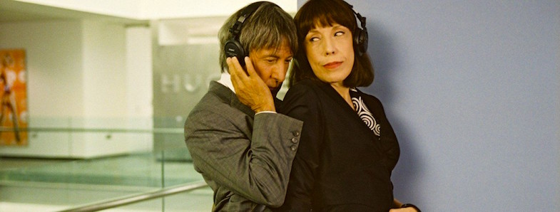 I guess she should have known she had no right to defend herself and the crew against and unprofessional male director.  Dustin Hoffman / Lily Tomlin I Heart Huckabees David O. Russell, 2004 Cinematography | Peter Deming