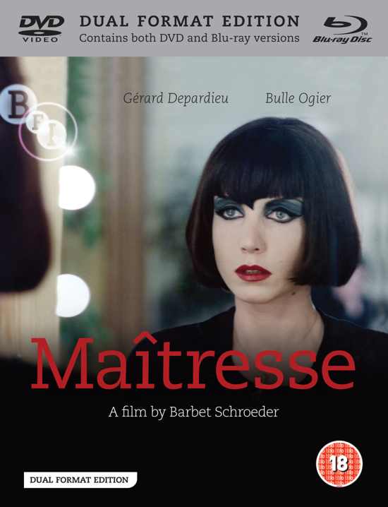 Wig and make-up perfected as well as an enhanced transfer. Maîtresse Barbet Schroeder, 1975 BFI Flipside, 2012