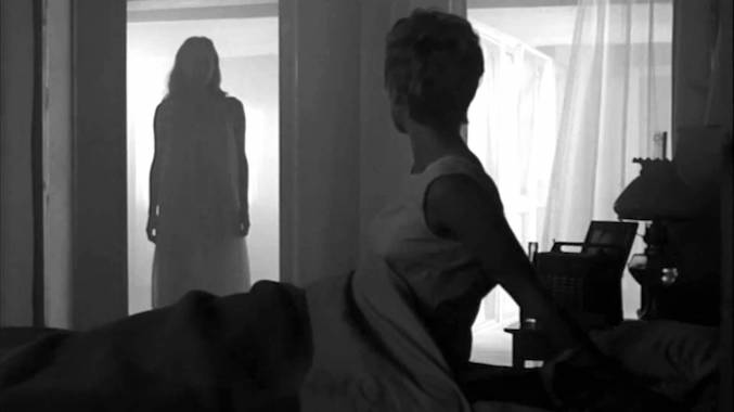 Silent prey or captive audience?  Liv Ullmann / Bibi Andersson  PERSONA Ingmar Bergman, 1966 Cinematography | Sven Nykvist