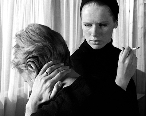 Intent to harm or heal? Bibi Andersson / Liv Ullmann PERSONA Ingmar Bergman, 1966 Cinematography | Sven Nykvist