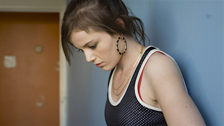 Even brightly painted walls are unable to hide the challenges of a young woman coming of age within a council estate. Katie Jarvis Fish Tank Andrea Arnold, 2009 Cinematography | Robbie Ryan