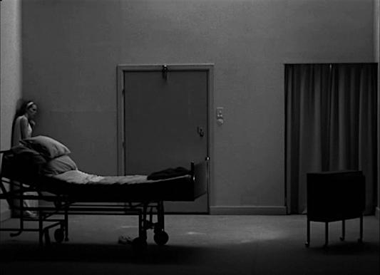 Too fragile to handle the world, so maybe she wants to try and manipulate it?  Liv Ullmann PERSONA Ingmar Bergman, 1966 Cinematography | Sven Nykvist