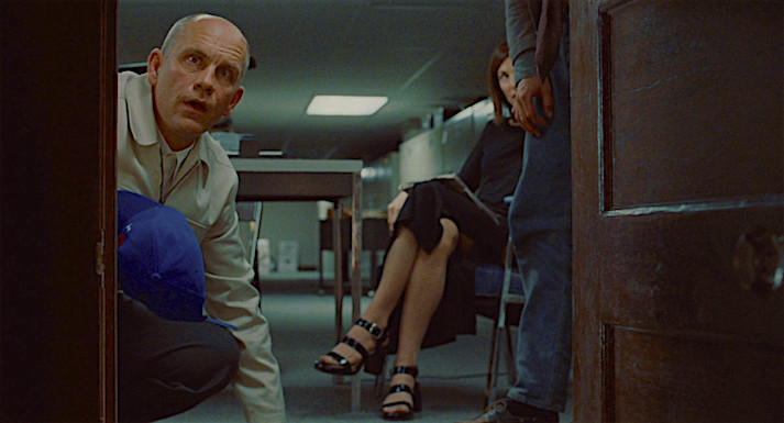 """""""...consciousness is a terrible curse. I think. I feel. I suffer."""" John Malkovich looks into a portal that leads to his own mind. Being John Malkovich Spike Jonze, 1999 Cinematography 