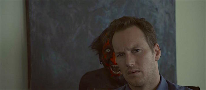 Patrick Wilson about to get a fright... Insidious James Wan, 2010 Cinematography| Brewer / Lenenti