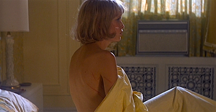 Has Mia Farrow been impregnated with the child of Satan or date raped by her husband? Rosemary's Baby Roman Polanski, 1968 Cinematography | William A. Fraker